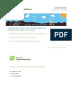 Workshop Emerging Energy Policies
