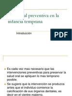 11s_Salud Oral Preventiva en La Infancia Temprana