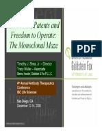 Fundamentals of patent law
