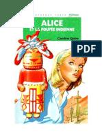 Caroline Quine Alice Roy 62 BV Alice et la poupée indienne 1981.doc