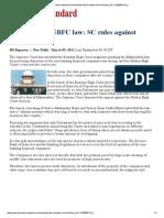 Maharashtra NBFC law