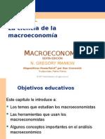 LOS INDICADORES MACROECONOMICOS. MANKIW