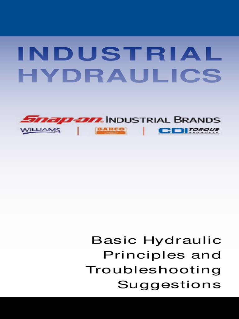 Williams-Industrial-Hydraulics-Basic-Hydraulic-Principles-and