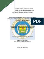 T UCE Agencia de Transito