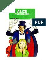 Caroline Quine Alice Roy 56 BV Alice et les magiciens 1979.doc