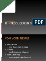 O Introducere in Design