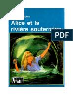 Caroline Quine Alice Roy 53 BV Alice et la rivière souterraine 1975.doc