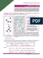 Reacciones química orgánica