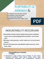 akauntabiliti & amanah