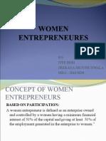Women Entrepreneurship