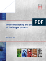 Online Monitoring Biogas