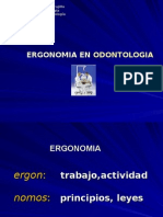 Ergonomía en Endodoncia