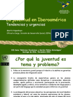 Juventud Iberoamerica MHopenhayn