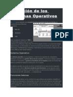 Evolución de Los Sistemas Operativos