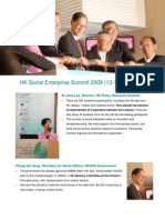 HK Social Enterprise Summit 2009