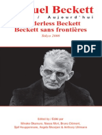 (Samuel Beckett Today_ Aujourd'Hui) Minako Okamuro, Naoya Mori, Bruno Clément-Borderless Beckett _ Beckett Sans Frontières. -Rodopi (2008)