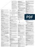 Material Science Cheatsheet for Midterm (NEWEST)