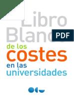 Libro Blanco Costes en Universidades