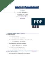 t6. Estructura Del Departamento de Sanidad, Bienestar Social y Familia de Aragón