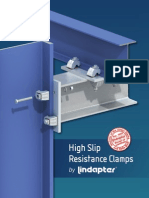 USA - Lindapter High Slip Resistance Clamps