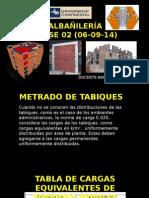01 METRADOS de carga para estructuras