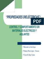 G4-Propiedades Dielectricas y Su Control