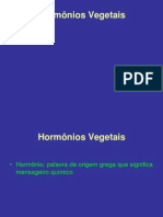 Hormônios vegetais 2014