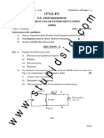 Instru Fundamentals of Instrumentation