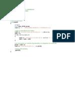 Programas de Metodos Numericos