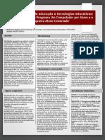 Políticas Públicas em Educação e o Programa Aluno Conectado (PE)