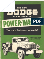 Dodge Power Wagon Green