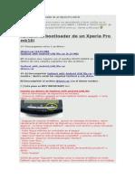Abrir y Cerrar El Bootloader de Un Xperia Pro Mk16i