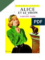 Caroline Quine Alice Roy 29 BV Alice et le vison 1952.doc