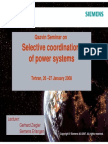 Selective Coordination of Power Systems