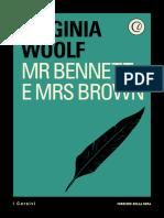 Mr Bennett e Mrs Brown Virginia Woolf 1