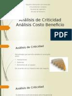 Análisis de Criticidad y Costo Beneficio
