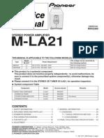 Pioneer M-la21 Sm