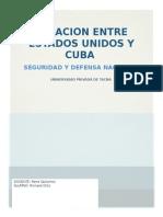 Relacion Entre Estados Unidos y Cuba