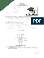 CHEMISTRY SPM FORM 4 Short Notes Chapter 6 ELECTROCHEMISTRY