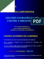 Gestión Estratégica de Costos y Presupuestos