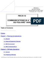 FM 24 12 Communications in Come as You Are War Field Manual
