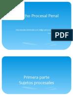 PPT Derecho Procesal Penal 2014 I Parte