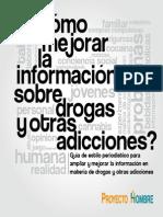 Guia Como Mejorar La Informacion Sobre Drogas y Otras Adicciones