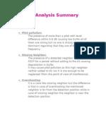 3G Analysis Summary