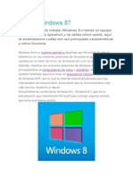 Qué Es Windows 8