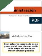 Administración - Salud Publica