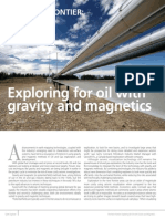 Exploring for Oil With Gravity and Magnetics