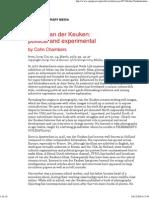 Johan Van Der Keuken by Cohn Chambers