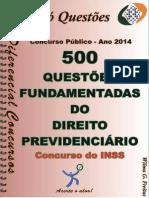 Apostila de Exercícios de Direito Previdenciário para Concurso INSS