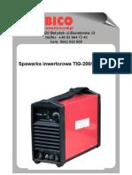BICO instrukcja tigmma-200